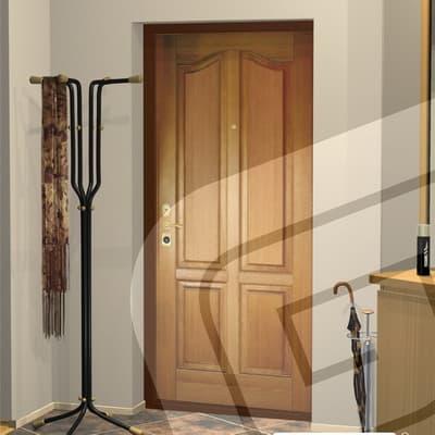 стальная дверь с внутренней стороны массив сосны