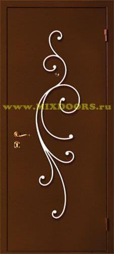 кованый орнамент на входные двери